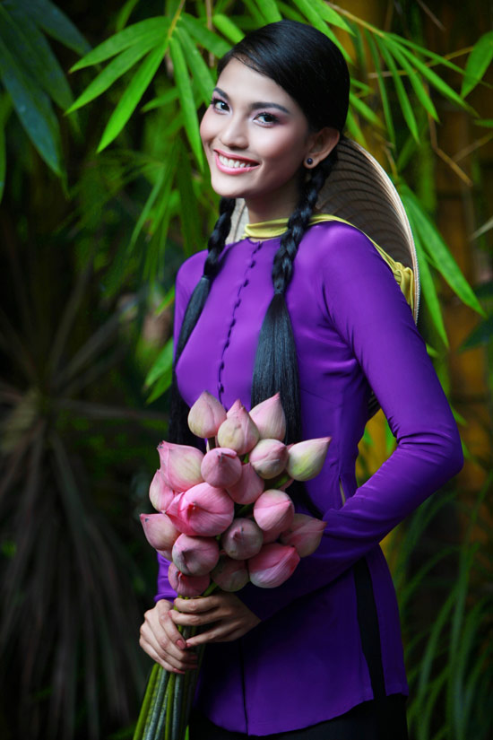 Trương Thị May hiền hòa với áo bà ba - 5