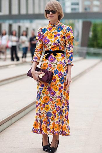 Mặc váy hoa thế nào cho chuẩn mốt? - 26