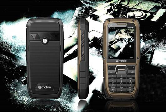 Q-mobile X3: Welcome all challenges, Fashion Hi-tech,