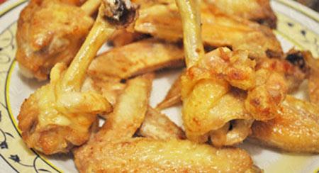 Cánh gà chiên tẩm mè vàng ươm - 4