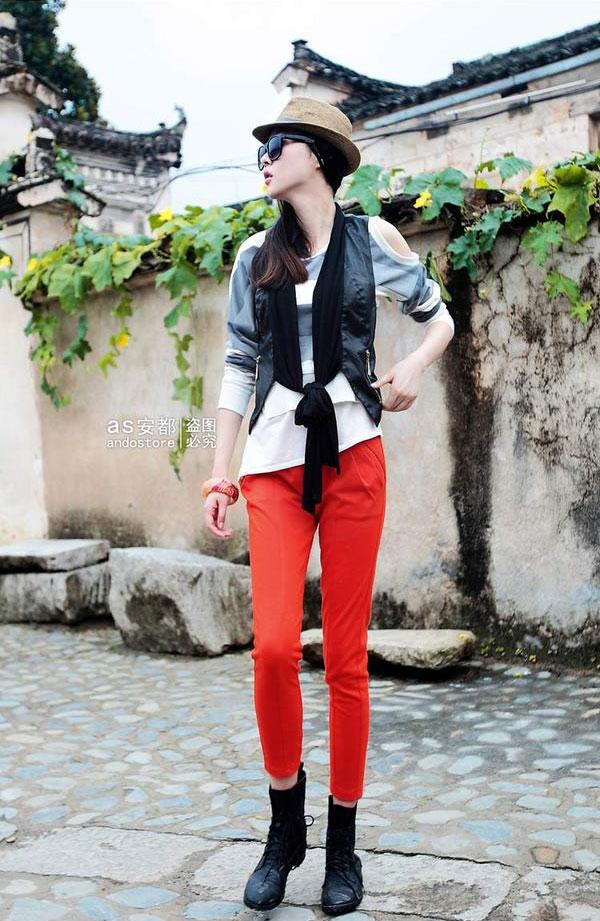 Kết hợp vest trẻ trung đa phong cách - 10