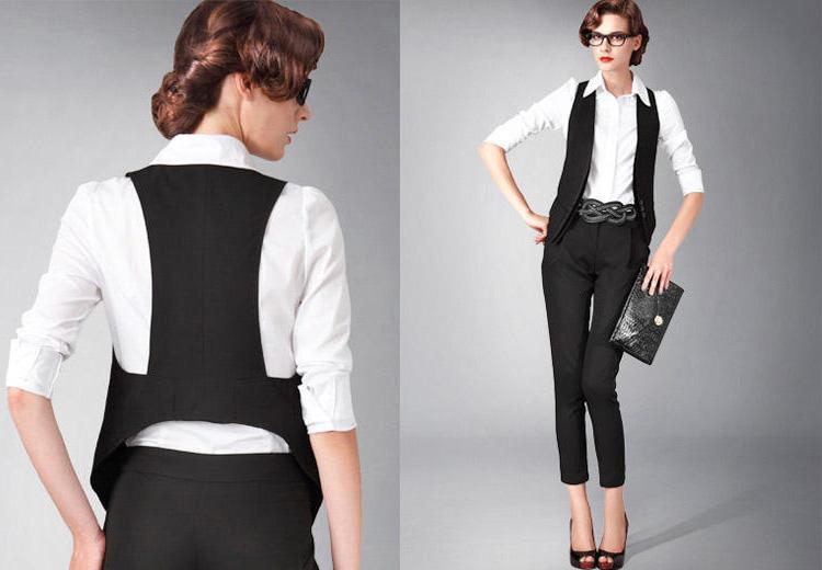 Kết hợp vest trẻ trung đa phong cách - 3