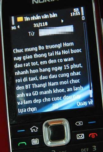 Người dân tiếp tục nhắn tin cho BT Thăng - 1