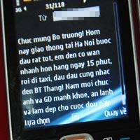 Người dân tiếp tục nhắn tin cho BT Thăng