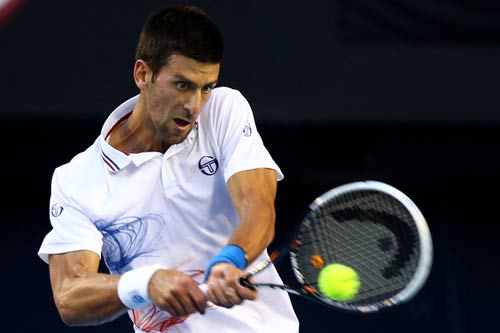 Djokovic &amp; k ngh tr giao bng nh bi Nadal, Hc tennis km video, Th thao, Djokovic, Nadal, return serve, Nole, Rafa, tennis