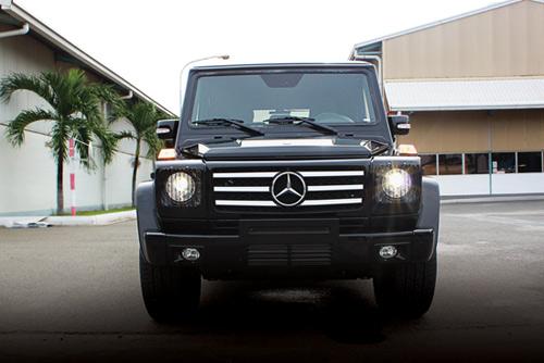 """Mercedes-Benz G55 AMG """"quái vật"""" núp bóng cổ kính - 1"""