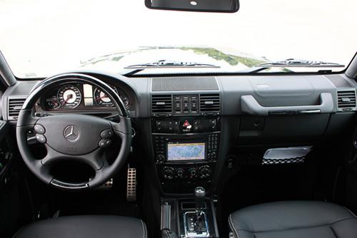 """Mercedes-Benz G55 AMG """"quái vật"""" núp bóng cổ kính - 3"""