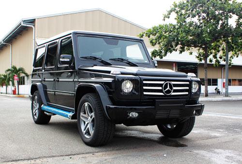 """Mercedes-Benz G55 AMG """"quái vật"""" núp bóng cổ kính - 2"""