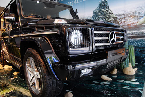 """Mercedes-Benz G55 AMG """"quái vật"""" núp bóng cổ kính - 4"""