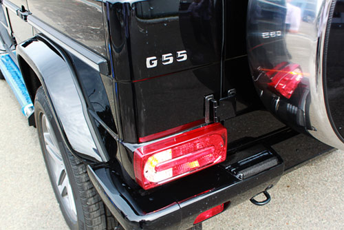 """Mercedes-Benz G55 AMG """"quái vật"""" núp bóng cổ kính - 7"""