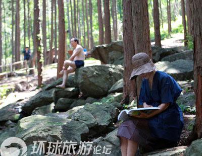 """Khu rừng """"tắm tiên"""" tại Hàn Quốc - 2"""