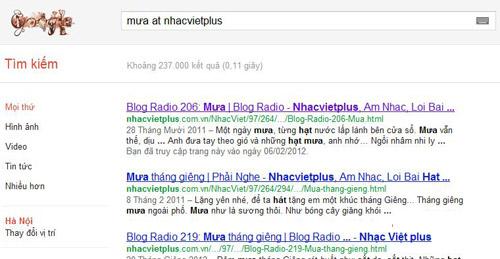 Thủ thuật tìm kiếm với Google ít ai biết - 2