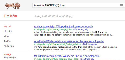 Thủ thuật tìm kiếm với Google ít ai biết - 5