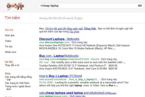Thủ thuật tìm kiếm với Google ít ai biết - 6