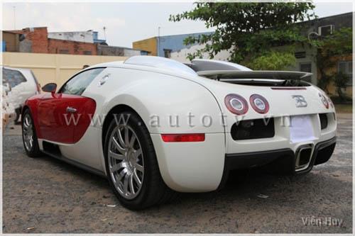 """""""Choáng"""" siêu xe Bugatti Veyron về Việt Nam - 10"""