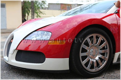"""""""Choáng"""" siêu xe Bugatti Veyron về Việt Nam - 5"""