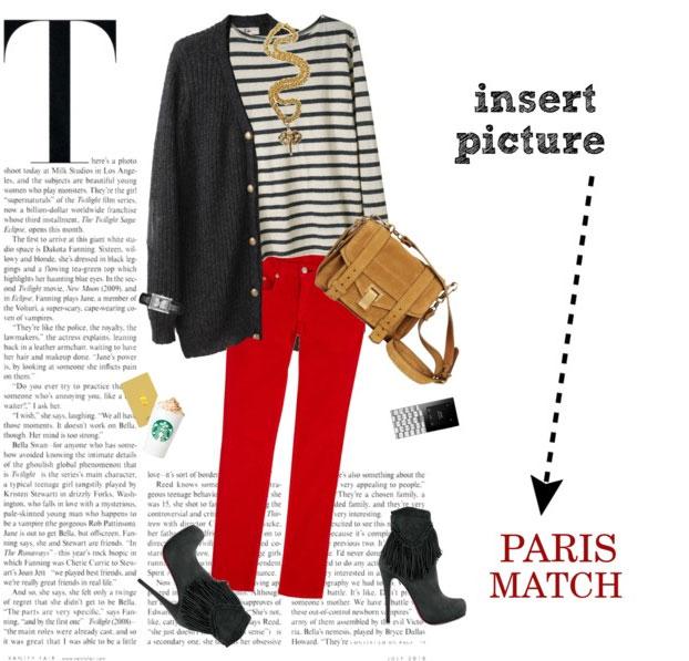 7 cách mặc đẹp với quần denim đỏ sành điệu - 4