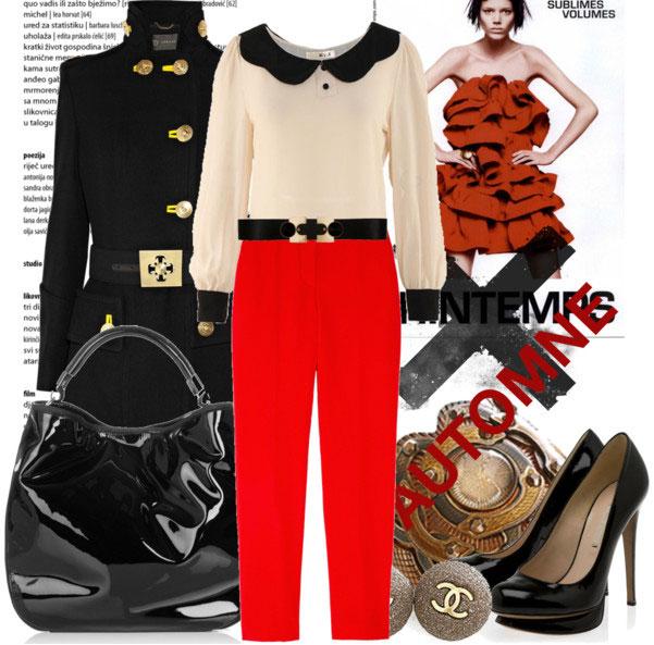 7 cách mặc đẹp với quần denim đỏ sành điệu - 10