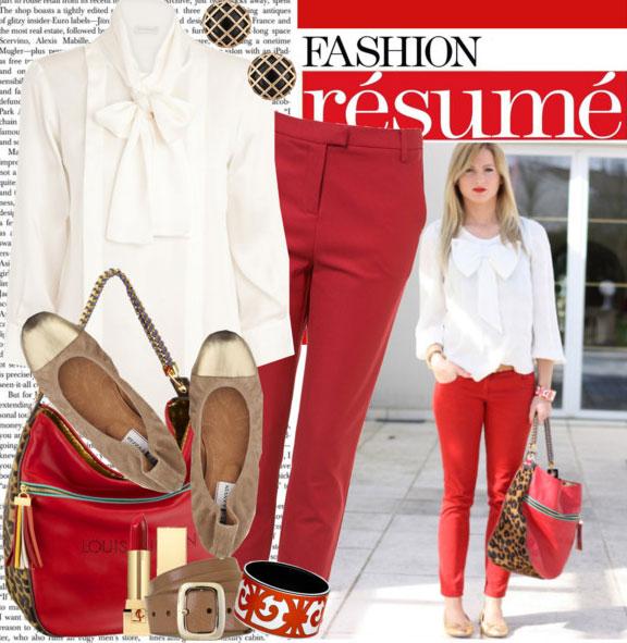 7 cách mặc đẹp với quần denim đỏ sành điệu - 9