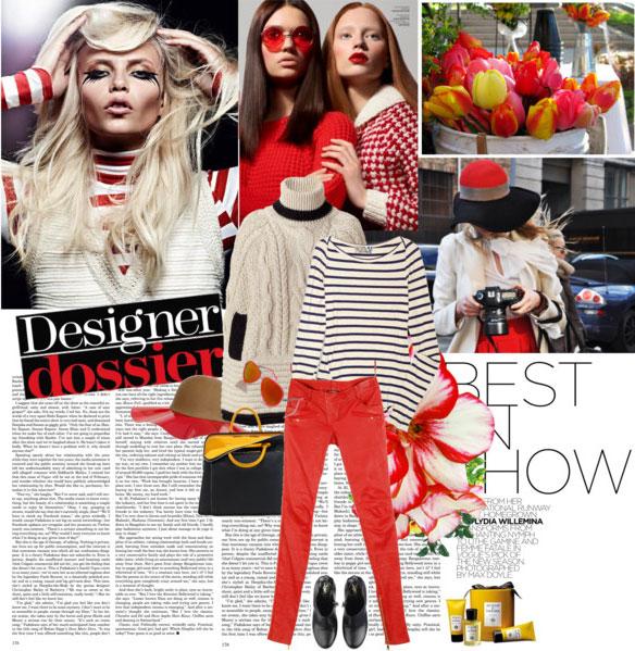 7 cách mặc đẹp với quần denim đỏ sành điệu - 16