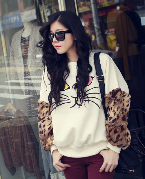 Too young blow without news, Fashion, animal print, flowers and animal shirts