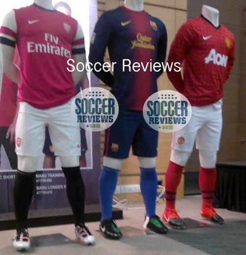 MU, Barca, Arsenal lộ diện áo đấu mới - 3