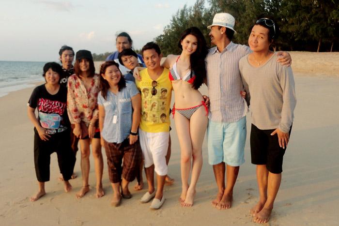 """Ngọc Trinh """"hot"""" tại Thái Lan - 8"""