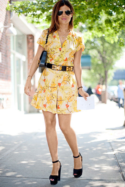 Mặc váy hoa thế nào cho chuẩn mốt? - 5