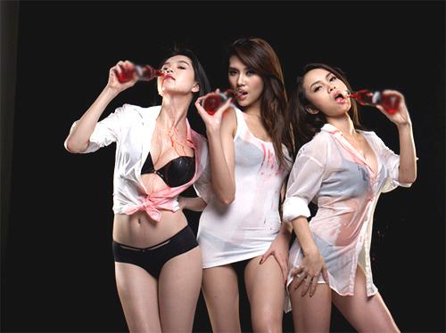 Hoàng Yến, Yến Trang, Ngọc Trinh gây sốc - 19