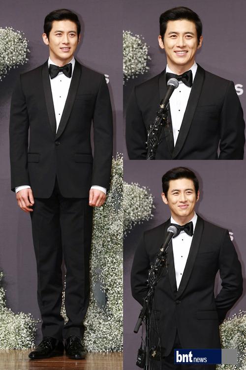 Sao Hàn nhộn nhịp tới dự đám cưới Go Soo - 1