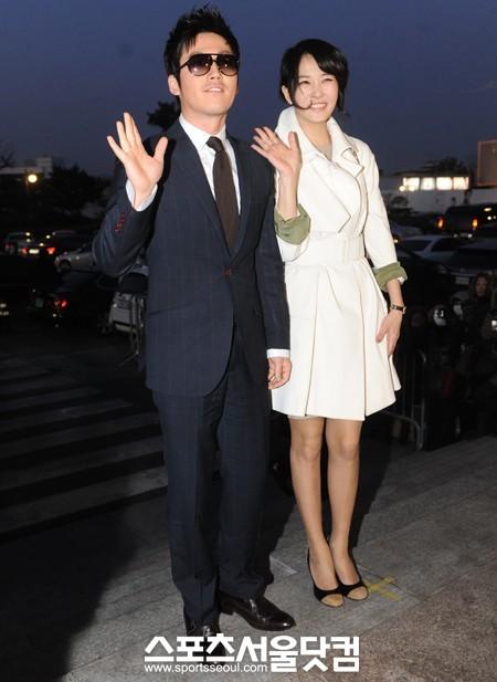 Sao Hàn nhộn nhịp tới dự đám cưới Go Soo - 8