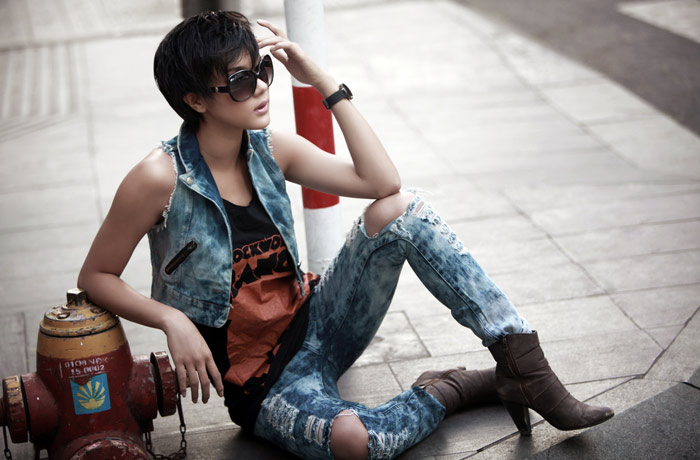 Kim Dung out how the dust jeans, jean Fashion, Fashion, metal content, fashion, clothes, jeans, fancy clothing, tom boy style, jeans, the rach