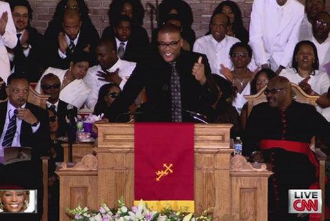 Tang lễ Whitney: Tạm biệt bằng âm nhạc - 13
