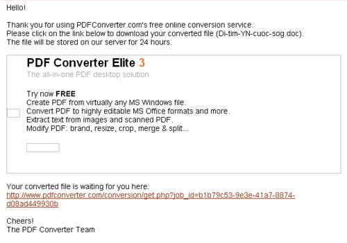 Chuyển đổi PDF sang Word, Excel, PowerPoint miễn phí với Pdfconverter - 8