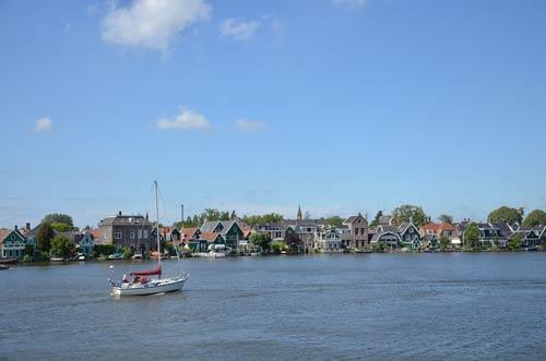 Cận cảnh làng cối xay gió Zaanse Schans ở Hà Lan - 5