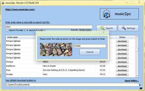Tìm và tải hàng triệu bản nhạc MP3 về máy - 2