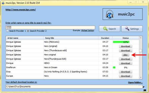 Tìm và tải hàng triệu bản nhạc MP3 về máy - 3