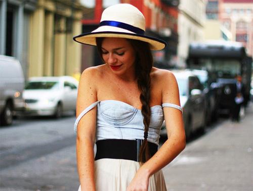 Thời trang mũ trên phố đẹp tới ngỡ ngàng - 8