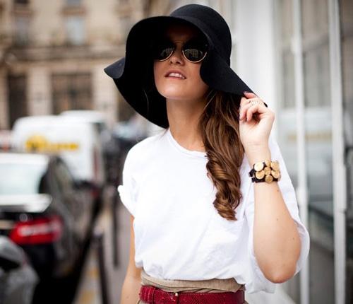 Thời trang mũ trên phố đẹp tới ngỡ ngàng - 6