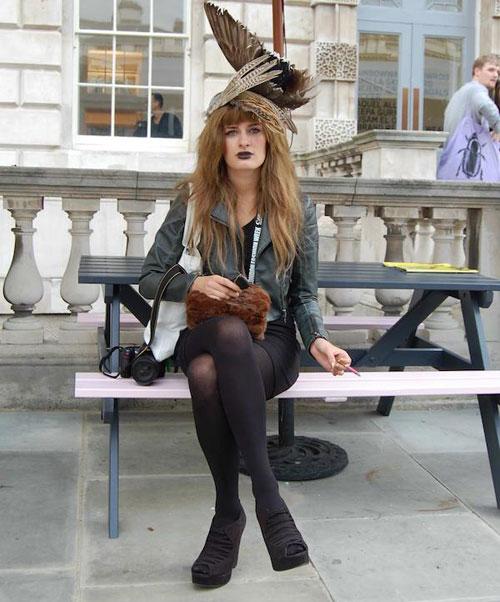 Thời trang mũ trên phố đẹp tới ngỡ ngàng - 20