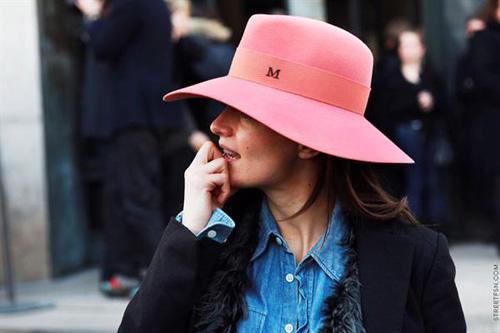 Thời trang mũ trên phố đẹp tới ngỡ ngàng - 10