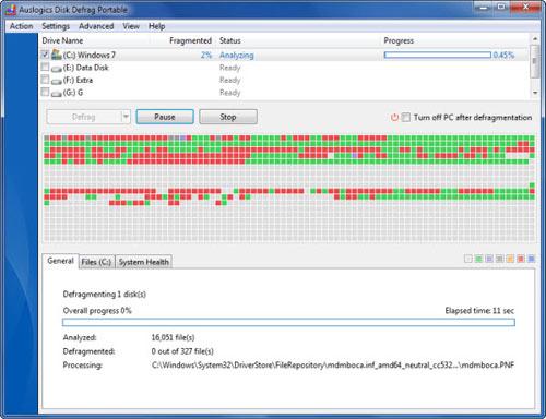 4 phần mềm chống phân mảnh miễn phí tốt nhất dành cho Windows 7 - 4