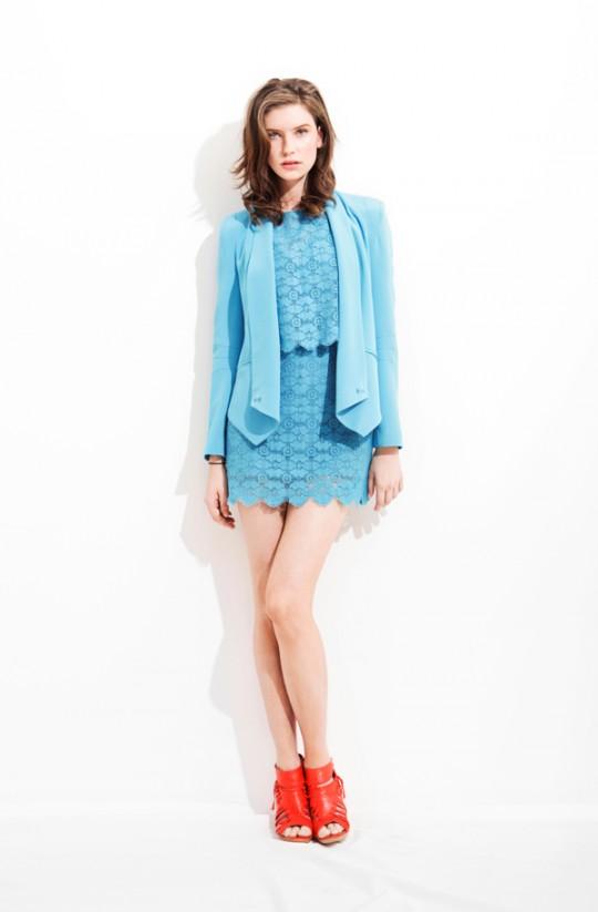 7 cách mặc váy ren trong Xuân-Hè 2012 - 3