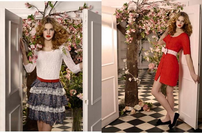 7 cách mặc váy ren trong Xuân-Hè 2012 - 20