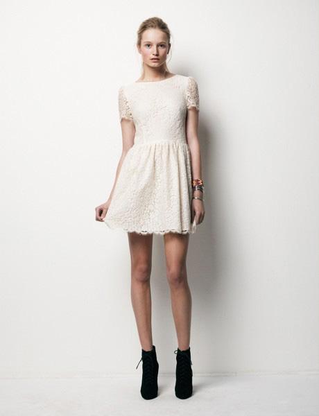 7 cách mặc váy ren trong Xuân-Hè 2012 - 6