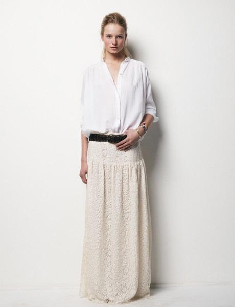 7 cách mặc váy ren trong Xuân-Hè 2012 - 5