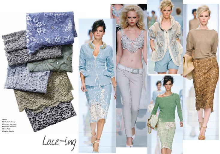 7 cách mặc váy ren trong Xuân-Hè 2012 - 19