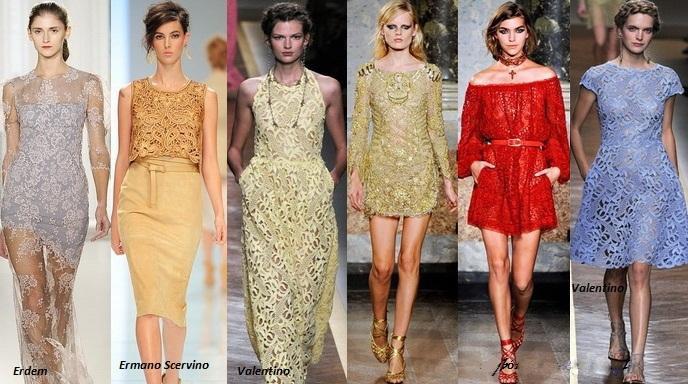 7 cách mặc váy ren trong Xuân-Hè 2012 - 17