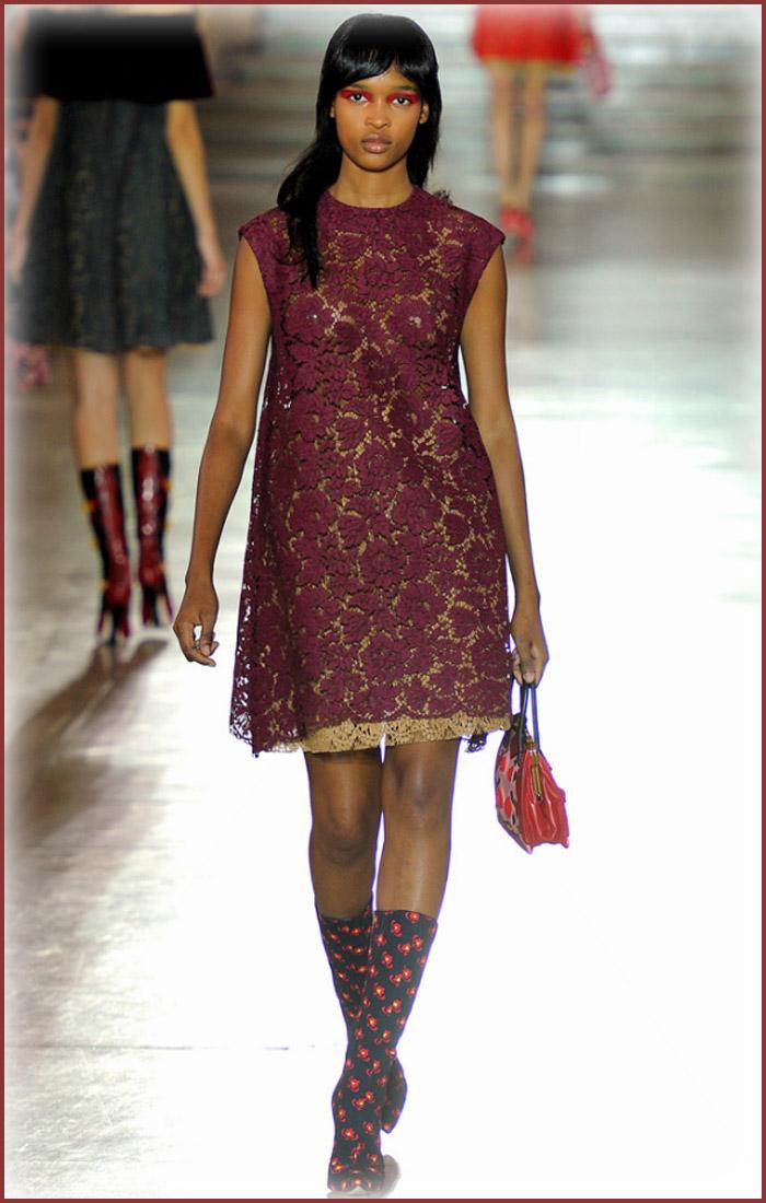7 cách mặc váy ren trong Xuân-Hè 2012 - 11