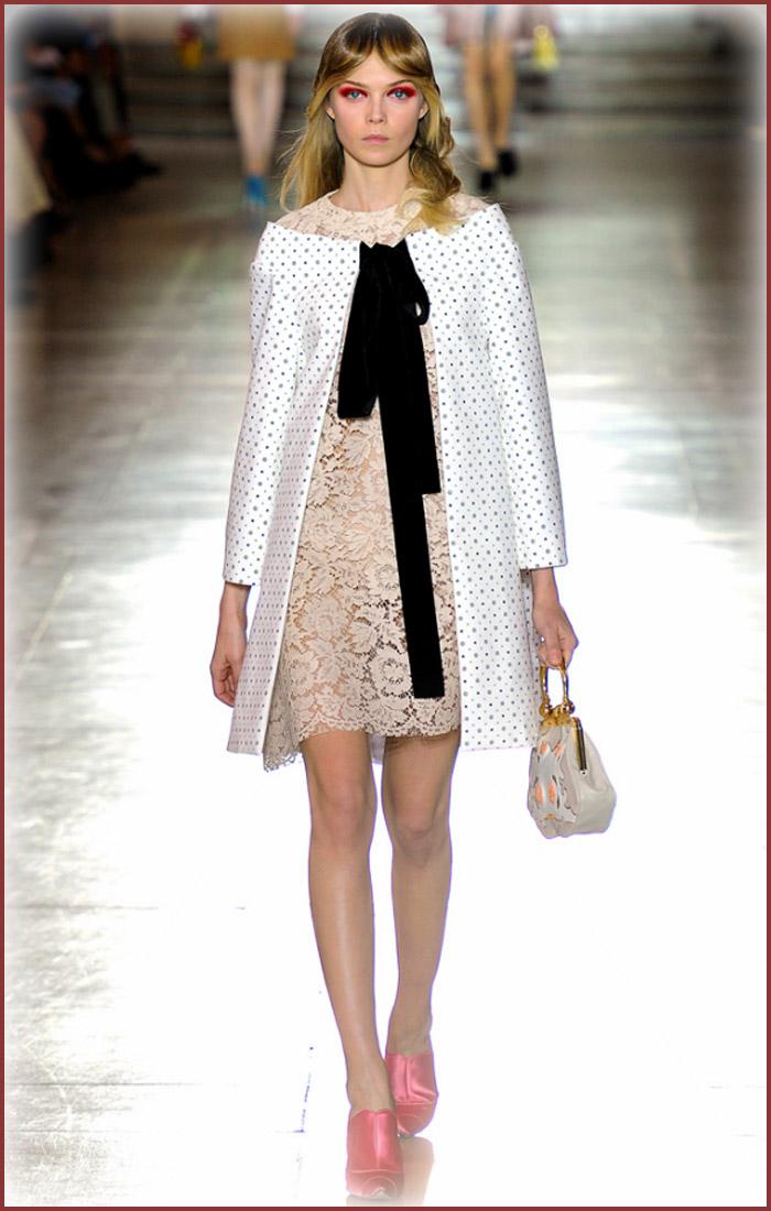 7 cách mặc váy ren trong Xuân-Hè 2012 - 12